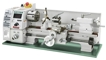 Introducing the Grizzly Variable-Speed Lathe